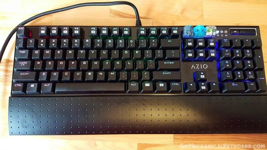how to change brightness on azio keyboard