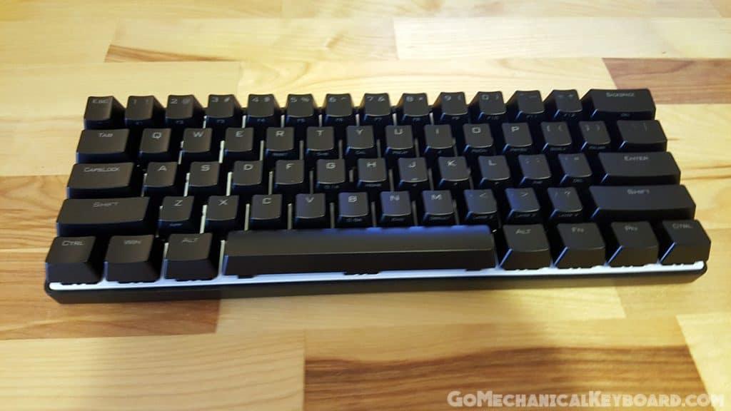 CODE 61-Key mechanical keyboard review | Go Mechanical Keyboard