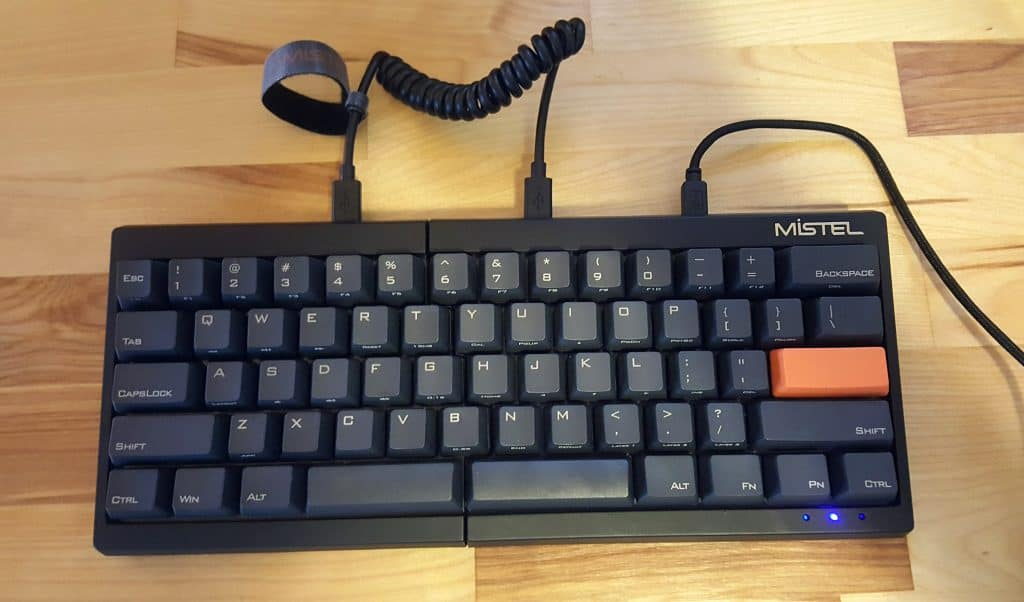 mistel keyboard review